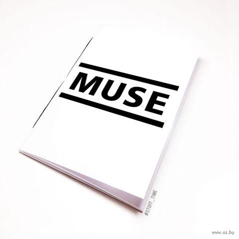 "Блокнот белый ""MUSE"" А5 (091)"
