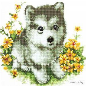 """Алмазная вышивка-мозаика """"Волчонок"""""""