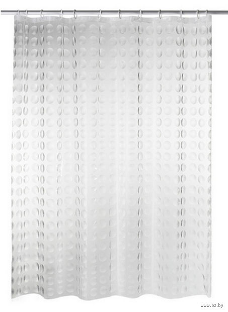 Занавес-шторка для ванной (180х200 см; арт. 35897) — фото, картинка