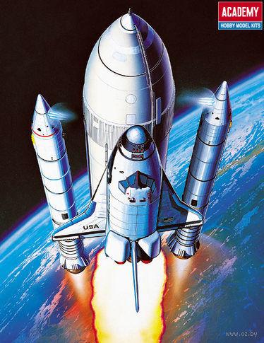 Космический корабль Shuttle & Booster Rocket (масштаб: 1/288) — фото, картинка