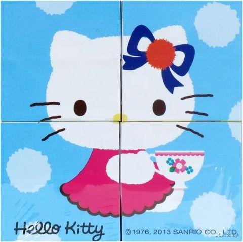 """Кубики """"Hello Kitty"""" (4 шт)"""