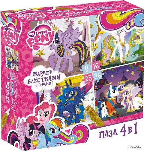 """Набор пазлов """"My Little Pony. Золотые пони"""" (86 элементов) — фото, картинка"""