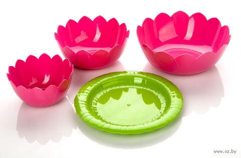 "Набор салатников ""Lotos"" (фламинго) — фото, картинка"