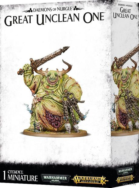 Warhammer Age of Sigmar. Daemons of Nurgle. Great Unclean One (83-41) — фото, картинка