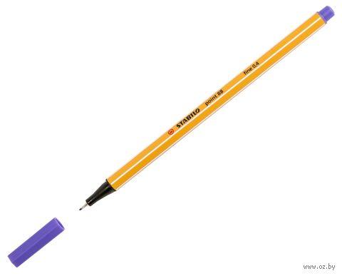 """Ручка капиллярная """"Point 88"""" (0,4 мм; фиолетовая) — фото, картинка"""