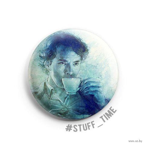 "Значок маленький ""Шерлок"" (арт. 485) — фото, картинка"