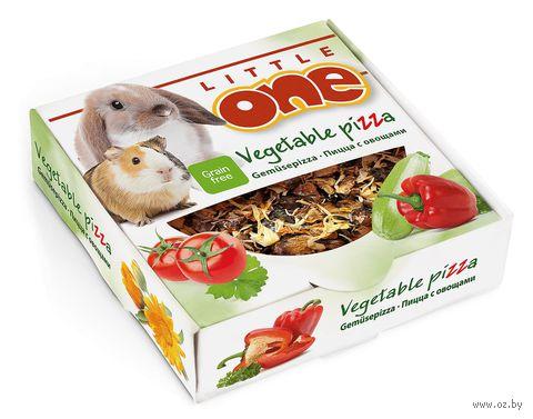 """Лакомство-игрушка для грызунов """"Пицца с овощами"""" (55 г) — фото, картинка"""