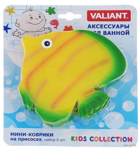 """Набор игрушек для купания """"Рыба"""" (6 шт.) — фото, картинка"""