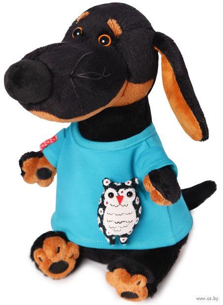"""Мягкая игрушка """"Ваксон в футболке с совой"""" (29 см) — фото, картинка"""