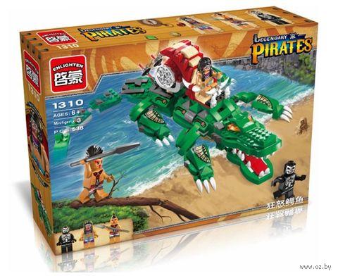 """Конструктор """"Pirates. Свирепый крокодил"""" (538 деталей) — фото, картинка"""