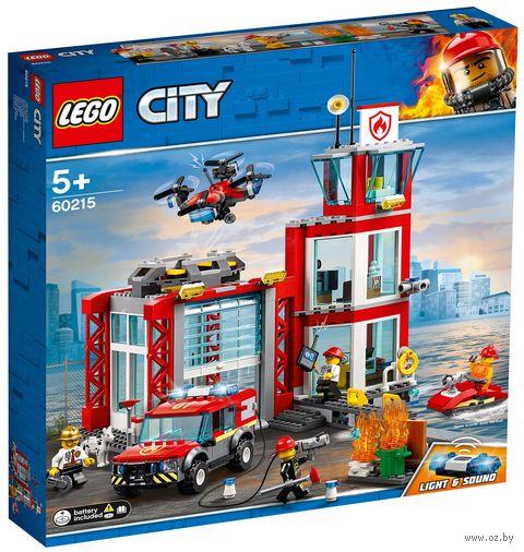 """LEGO City """"Пожарное депо"""" — фото, картинка"""