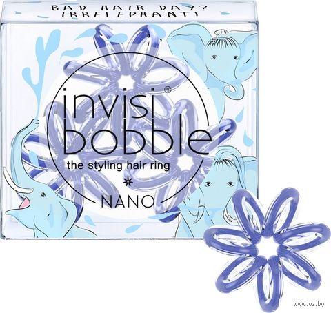"""Набор резинок для волос """"Nano Bad Hair Day? Irrelephant!"""" (3 шт.; арт. 3078) — фото, картинка"""