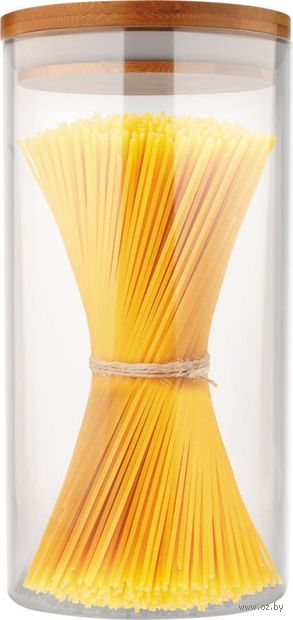 "Банка стеклянная ""Bambu"" (1 л) — фото, картинка"