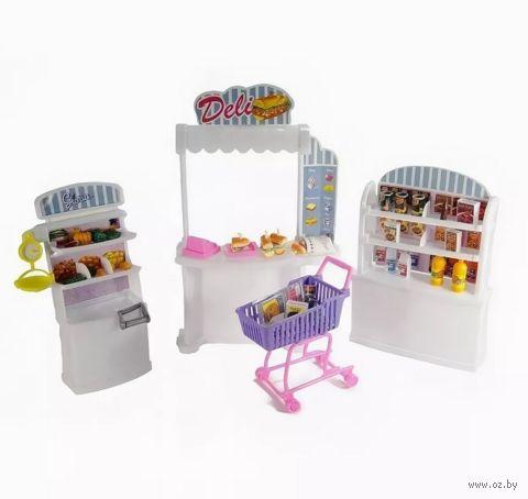 """Набор мебели для кукол """"Супермаркет"""" — фото, картинка"""