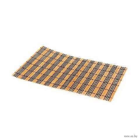 Подставка сервировочная бамбуковая окрашенная (30х45 см; арт. 4900001)
