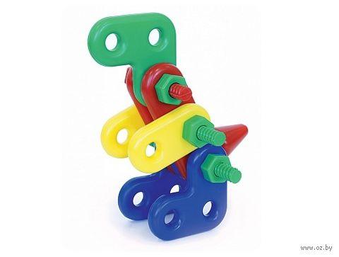 """Конструктор """"Динозавр Паша"""" (17 деталей) — фото, картинка"""
