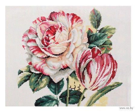 "Алмазная вышивка-мозаика ""Розовые цветы"""