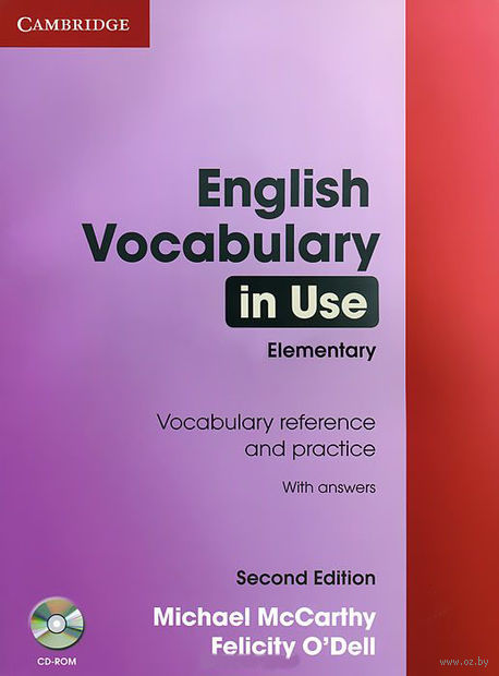 English Vocabulary in Use. Elementary with Answers (+ CD) — фото, картинка