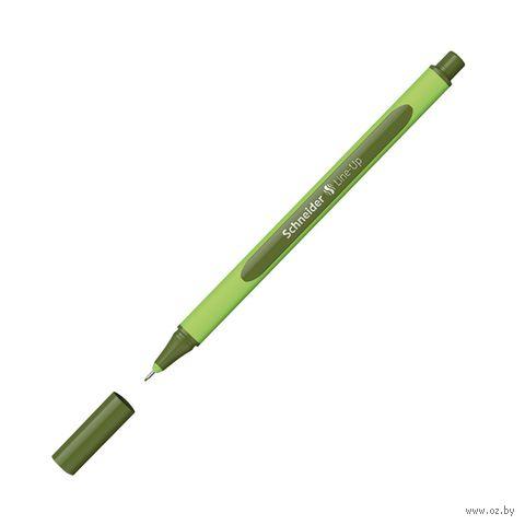 """Ручка капиллярная """"Line-Up"""" (0,4 мм; оливковая) — фото, картинка"""