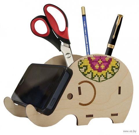 """Набор для вышивания """"Слон-подставка"""" — фото, картинка"""