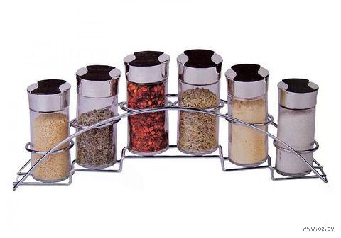 Набор баночек для специй (6 шт.; 90 мл; арт. 85199)