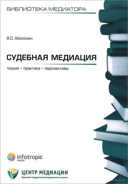 Судебная медиация. Вадим Аболонин