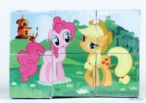 """Кубики """"My Little Pony"""" (6 шт)"""