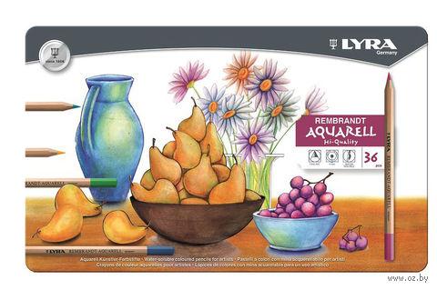 """Акварельные карандаши """"LYRA REMBRANT AQUARELL"""" (36 цветов)"""