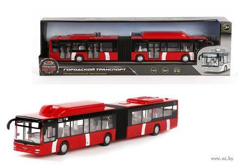 """Модель машины """"Городской автобус"""" (масштаб: 1/43)"""