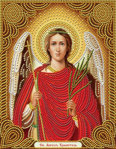 """Алмазная вышивка-мозаика """"Икона Ангел хранитель"""" — фото, картинка"""