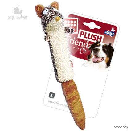 """Игрушка для собак с пищалкой """"Белка"""" (29 см) — фото, картинка"""