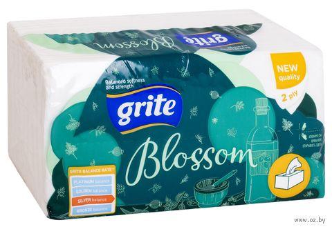 """Бумажные полотенца """"Blossom"""" (120 листов; белые) — фото, картинка"""
