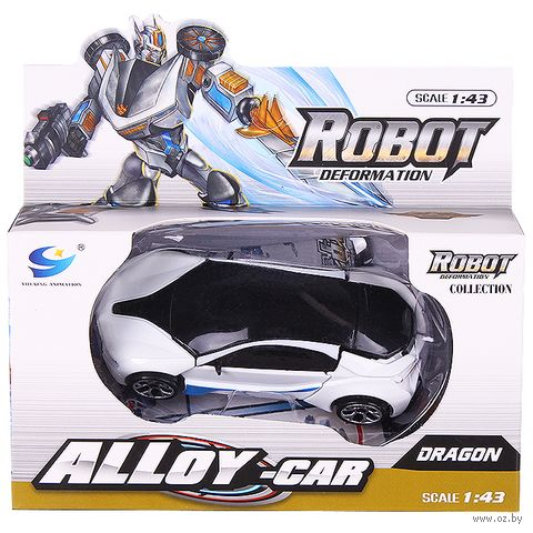 "Робот-трансформер ""Машина"" (арт. DV-T-683) — фото, картинка"