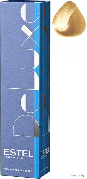 """Краска-уход для волос """"Estel. De Luxe"""" тон: 10/36, светлый блондин золотисто-фиолетовый — фото, картинка"""