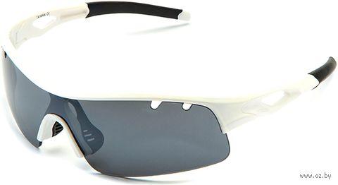 """Очки солнцезащитные """"S-14012-C"""" (белые) — фото, картинка"""