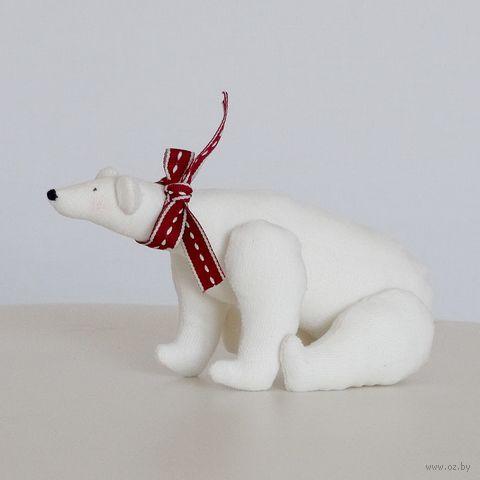 """Кукла ручной работы """"Белый медведь"""""""