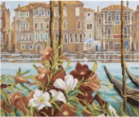 """Вышивка крестом """"Весна в Венеции"""""""