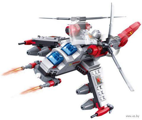 """Конструктор """"Вертолет будущего"""" (277 деталей) — фото, картинка"""