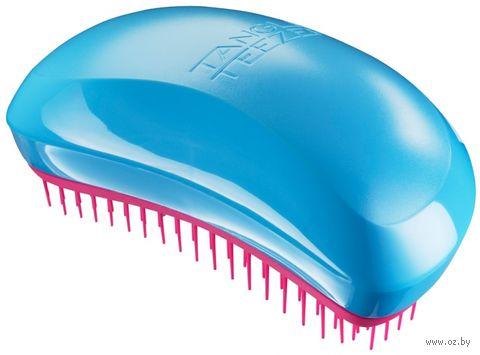 """Расческа для волос """"Tangle Teezer Salon Elite. Blue Blush"""" — фото, картинка"""
