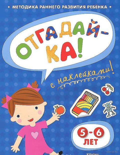 Отгадай-ка. 5-6 лет. Ольга Земцова