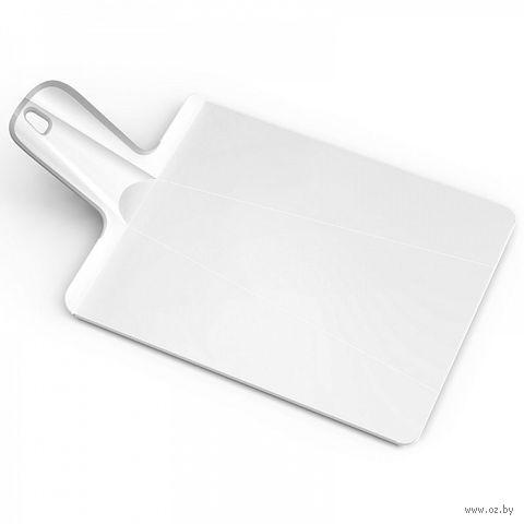 "Доска-трансформер разделочная ""Chop2Pot Plus"" (38х21х1,5 см; белая)"