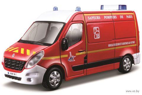 """Модель машины """"Bburago. Renault Master"""" (масштаб: 1/50) — фото, картинка"""