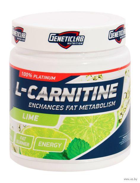 "Л-карнитин ""L-Carnitine Powder"" (150 г; лайм) — фото, картинка"