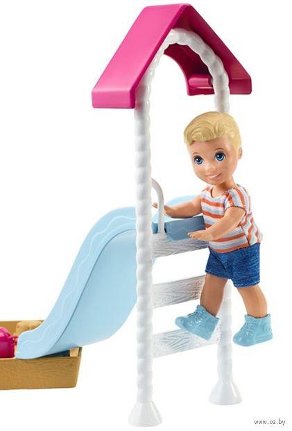 """Игровой набор """"Барби. Игра с малышом"""" (арт. FXG96) — фото, картинка"""
