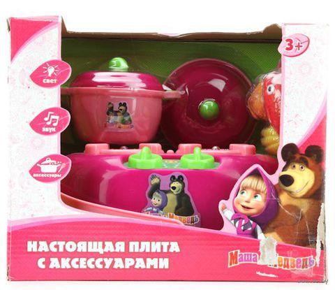 """Игровой набор """"Маша и Медведь. Плита с аксессуарами"""" (арт. B156675-R1)"""