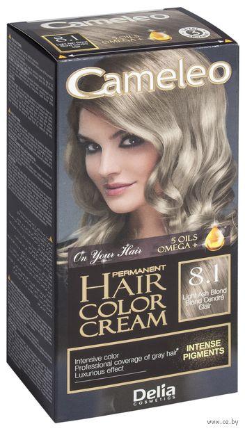 """Крем-краска для волос """"Cameleo"""" (тон: 8.1, пепельный блондин) — фото, картинка"""
