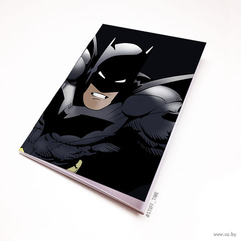 """Блокнот белый """"Бэтмен"""" А5 (879)"""
