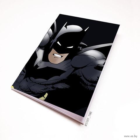 """Блокнот белый """"Бэтмен"""" А5 (арт. 879)"""