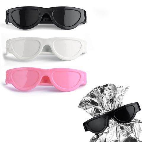 "Клипсы для пакетов ""Bag Glasses"" (черная/белая/розовая, 3 шт.)"