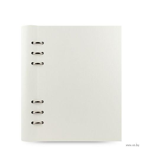 "Записная книжка Filofax ""Clipbook Classic"" (A5; white)"